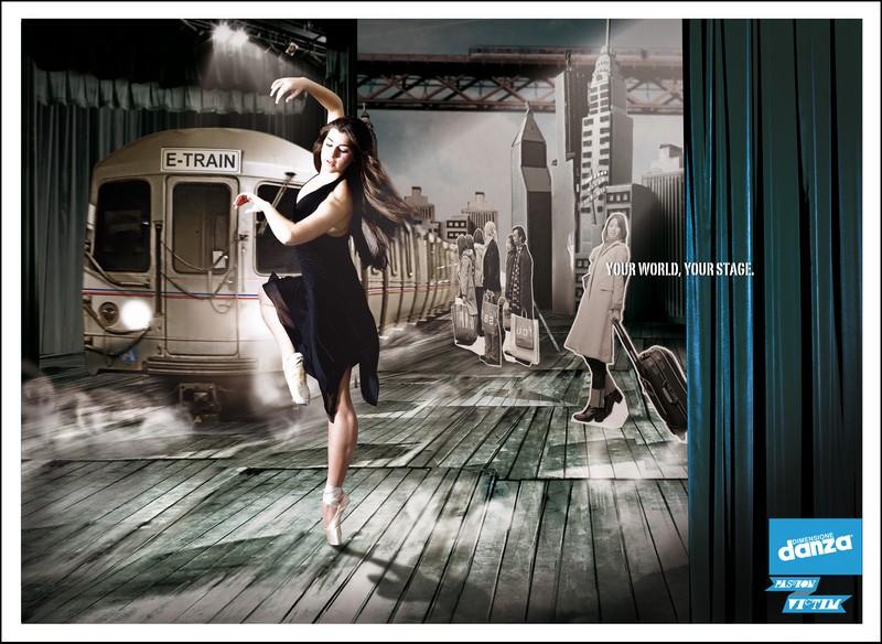 pubblicità danza