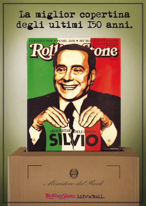 Berlusconi Rolling Stone