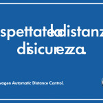pubblicita Volkswagen Distanza di Sicurezza