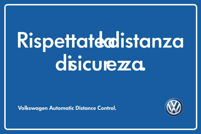 Volkswagen Distanza di Sicurezza