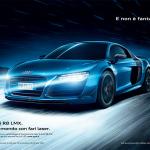 pubblicita Audi R8LMX