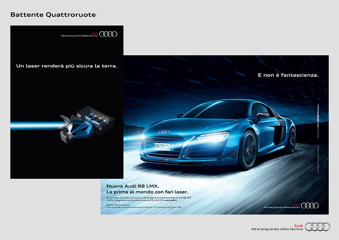 Quattroruote Audi R8 LMX