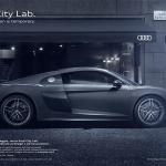 pubblicita audi city lab