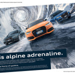 pubblicita Alpine adrenaline