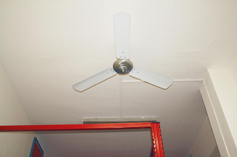 monolocale milano con ventilatore