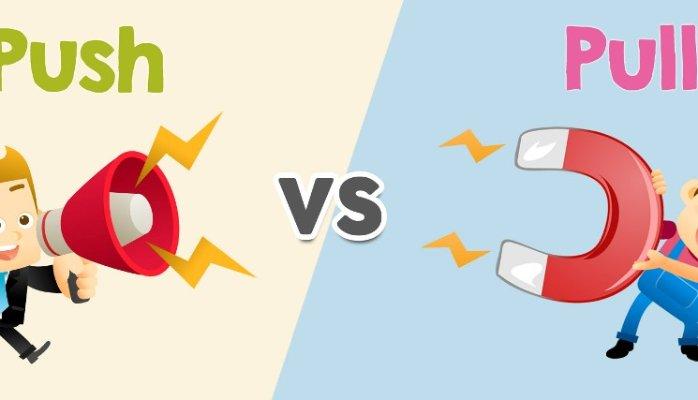 ottimizzazione push pull marketing